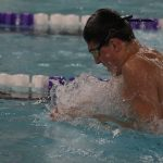 Coach Vogel talk Beloit Swimming
