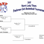 9th Grade Norris Basketball Tournament