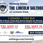 Waverly to Host Lincoln Saltdogs