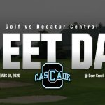 Girls Golf shoots best team score of the season but fall short to Decatur Central