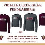 VHS Cheerleaders Fundraiser in Progress!