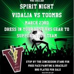 VHS Soccer Spirit Night!!!