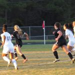 Girls Varsity Soccer falls to East Laurens 1 – 0