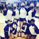 Junior Varsity Dance finishes 1st place at McIntosh Dance Invitational