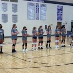 7th Grade Volleyball Picks Up A Win