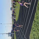Girls Track Win Home Meet