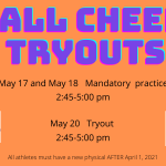 Brownsburg East Middle School Cheerleading Tryout