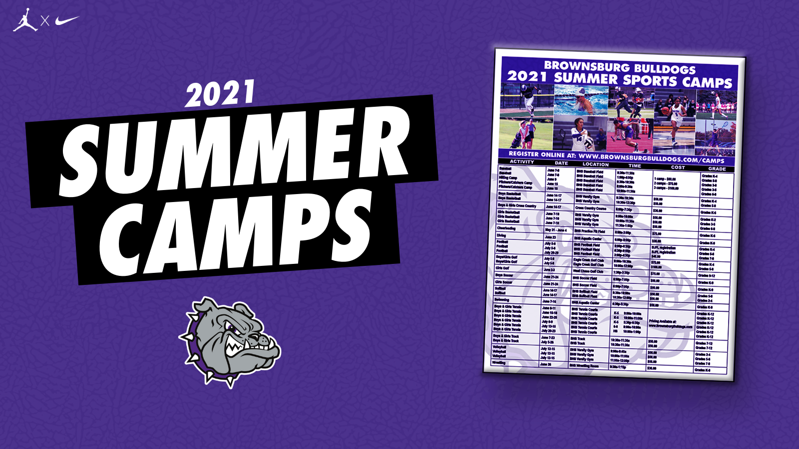 Summer Camps are HERE!!