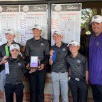 Boys Golf Hendricks County Champs!