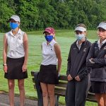 Girls Varsity Golf finishes 6th place at New Praire Invite