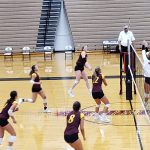 Varsity Volleyball beats Lowell 3 – 0