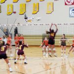 Junior Varsity Volleyball falls to LaPorte 2 – 0