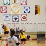 Varsity Volleyball falls to LaPorte 3 – 0