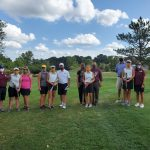Girls Varsity Golf finishes 2nd place in DAC action