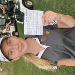 Addison Gentry's 39 leads Girls Golf team to victory over Highland and Andrean