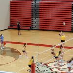 Varsity Volleyball falls to Crown Point 3 – 0