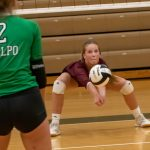 Varsity Volleyball falls to LaPorte 3 – 0