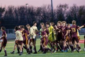 Boys Soccer – State Champions by Mr. Hokanson