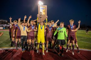 Boys Soccer – Celebration and Medals from Mr. Hokanson