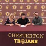 Blake Lemmon signs his NLI with University of Cincinnati