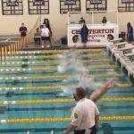 Girls Varsity Swimming beats Highland 142 – 34
