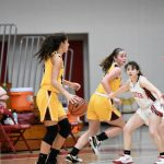 Girls Varsity Basketball beats Munster 65 – 42