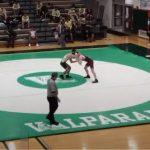 Varsity Wrestling beats Valparaiso 63 – 12