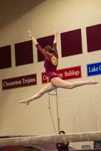 Gymnastics – Chesterton vs. Lake Central from Mr. Hokanson