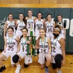 Girls 7th Grade A Team Basketball beats Thomas Jefferson in Conference Championship 26 – 22
