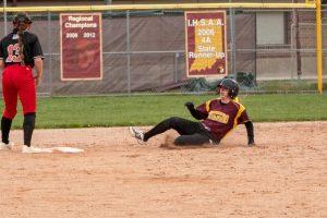 Softball vs. Griffith from Mr. Hokanson