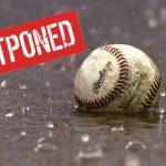 Varsity/Freshman Baseball Postponed Due to Weather
