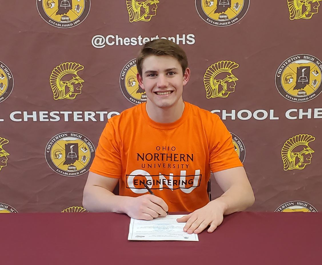 Gavin Layman Signs NLI for Ohio Northern University