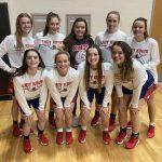 Girls Varsity Basketball beats North Miami Middle/ 61 – 34