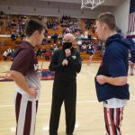 Boys Varsity Basketball beats Winamac Community 48 – 41