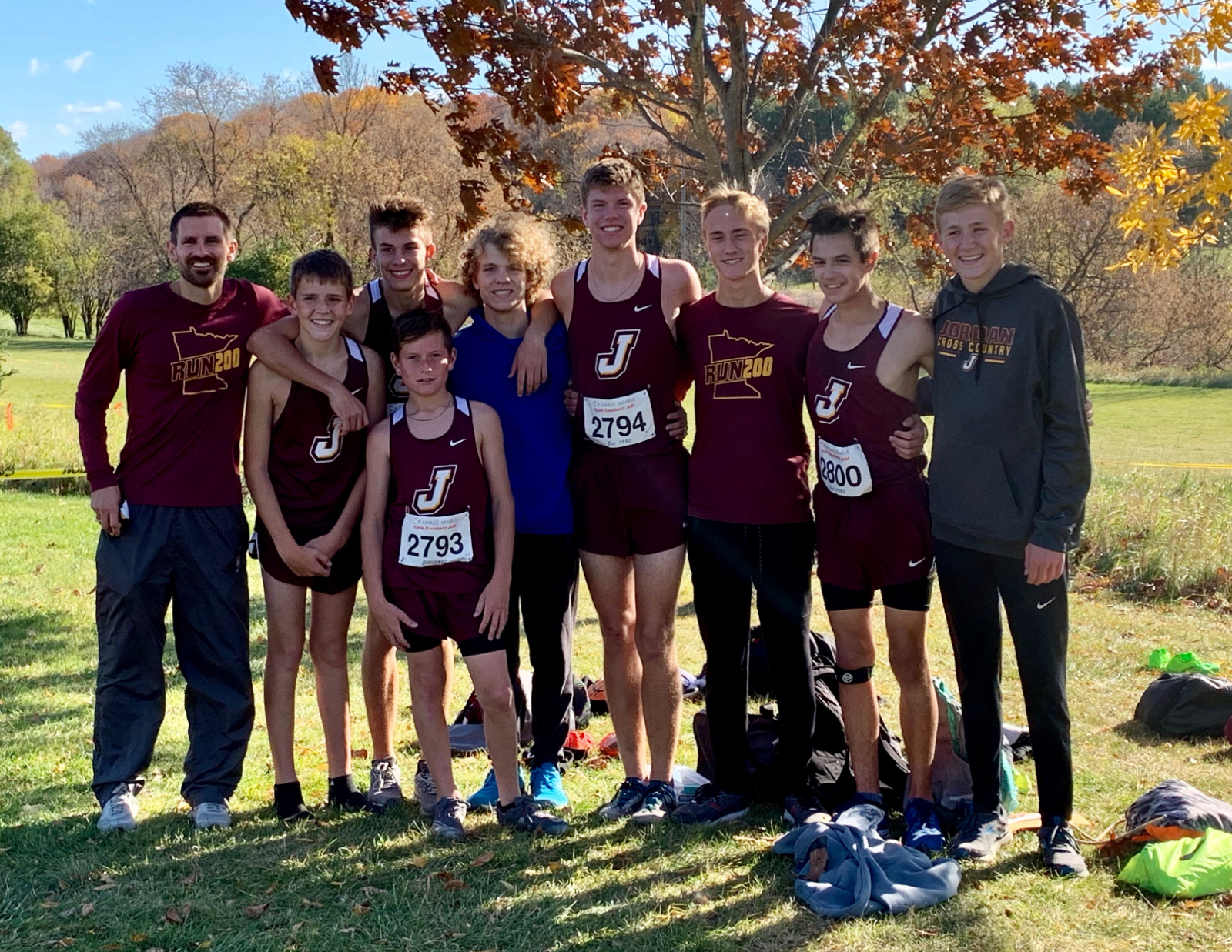 Section 2AA Cross Country Meet Results