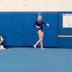 Jordan Gymnast is enjoying her opportunity to compete!