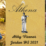 Abby Vizenor Named 21′ Athena Award Winner!