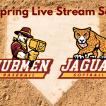 2021 Baseball & Softball Live Stream Schedule