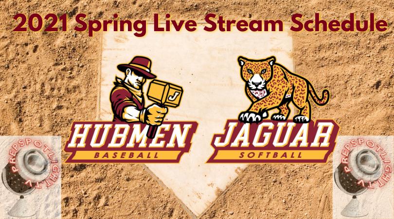 2021 Baseball & Softball Live Stream Schedule