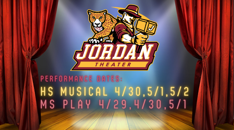 Upcoming Spring Performances by Jordan Theater Department