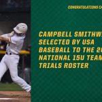 Congratulations Campbell Smithwick!