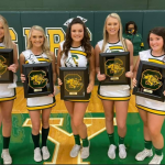 Class of 2021 Cheerleaders and Basketball Players Recognized