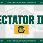 Spectator Information for Attending Athletic Events this Spring