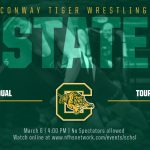 State Wrestling Tournament Today!