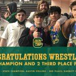 Congratulations Conway Wrestlers!