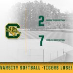Conway Softball Loses to CF