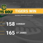 Conway Golf Takes Down St James