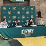 5 student athletes sign to play at the college level!