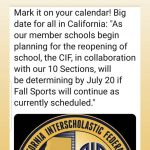 Big CIF Announcement July 20th
