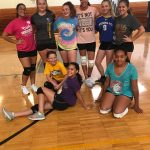 Girls Middle School Volleyball beats vs Oberlin,  Langston M.S. 0 – 2